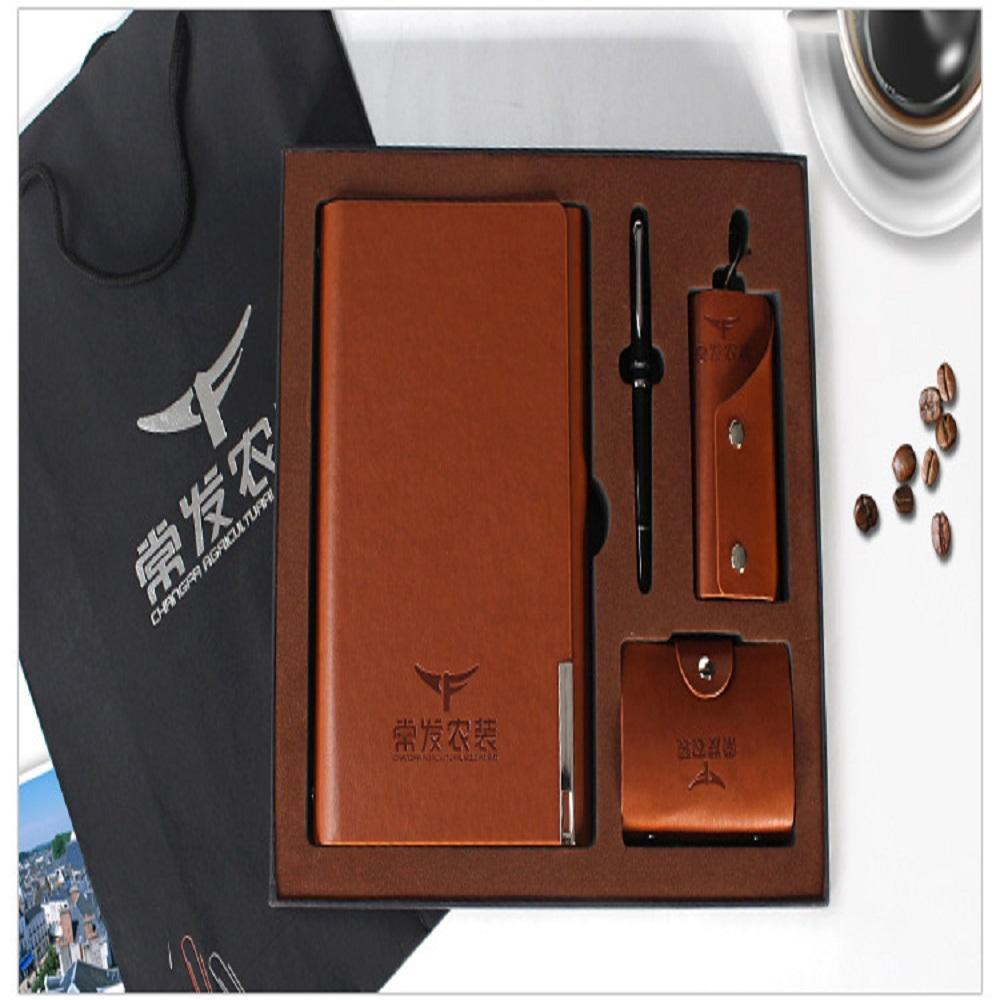 Premium Gift Notebook Suit with Ballpoints Pen Business Notebook Combination Notebook design