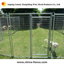 powder painted wire mesh fencing dog kennel