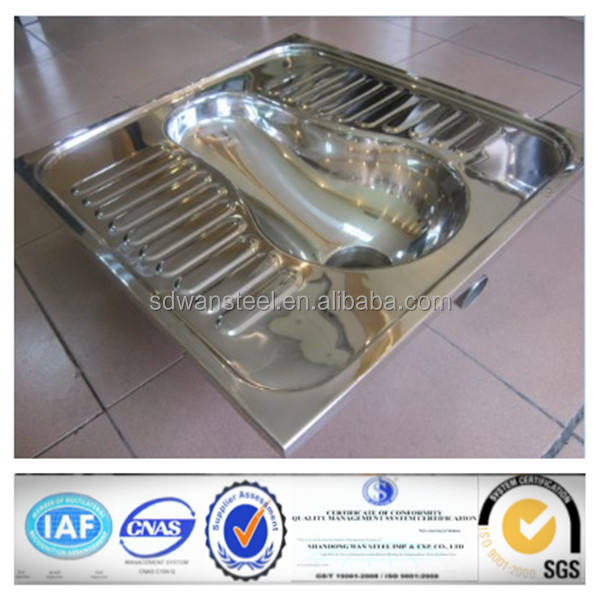 Stainless steel lavatory pan(W.C.)
