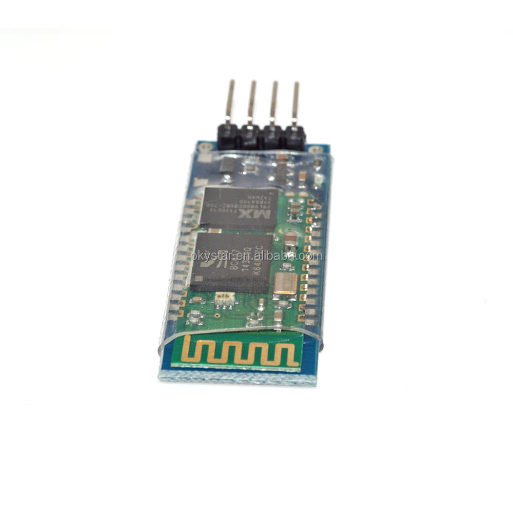 Okystar Oem/Odm HC-06 RS232 Ttl Uart Rf Wireless Bluetooth Transceiver Module