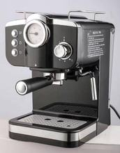 15 bar high pressure pump cappuccino espresso 2 in 1 coffee machine