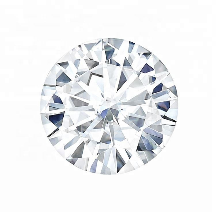GIA Certified Charles Colvard Forever One VVS DEFGHI Colorless Wholesale Synthetic Diamond Moissanite Loose Stone