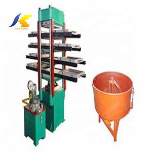 CE/ISO rubber tile paver making machine