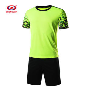 High Quality Custom Thailand Jersey Football Uniform Short Sleeve Training Team Uniform Football Shirt