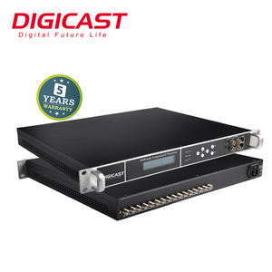 New Products Digital Headend IP Gateway HD Satellite Receiver up to 24 Tuners Input