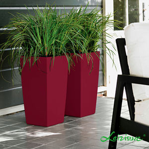 Outdoor indoor garden livingroom big large tall plastic commercial flower pots   planters wholesale plant pots modern planter