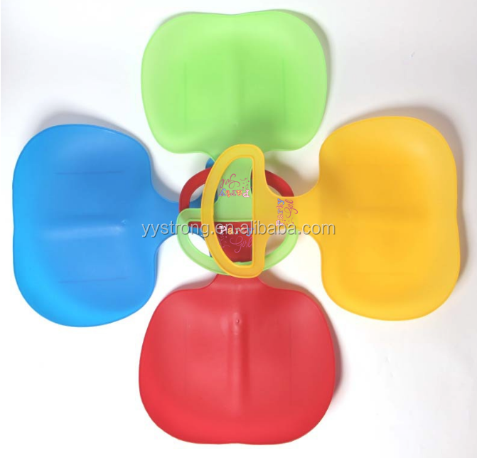 Plastic snow sled for children with low price but high quality