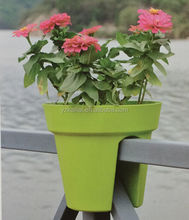 new product for 2015 railing pots balconies plant pots for balconies balcony flower pot holders