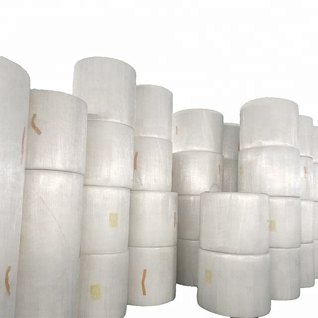 Recycled pulp and virgin wood pulp Jumbo roll toilet paper