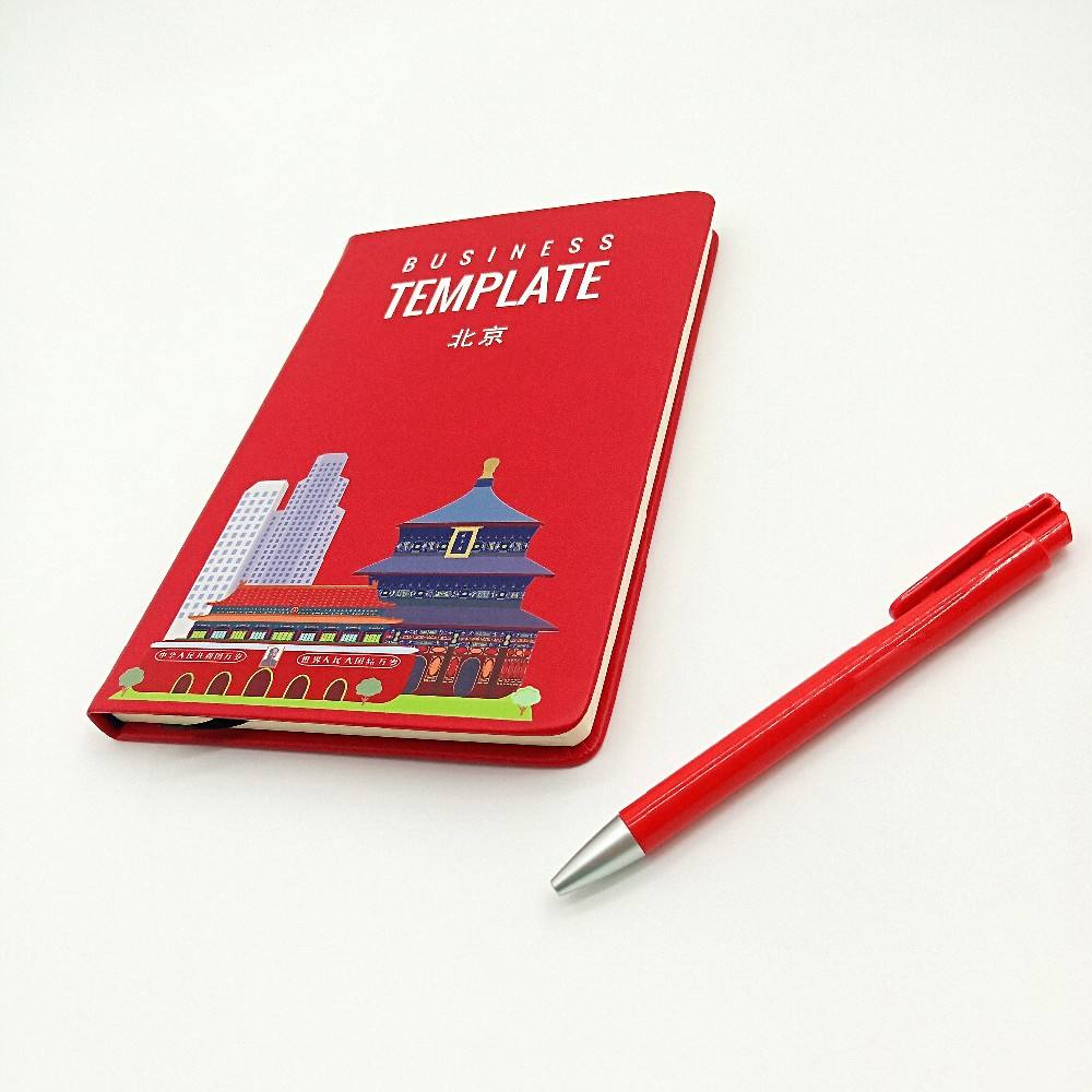 Private Label Stampa Personalizzata 2021 Hardcover Linea Ufficiale del Contenitore di Regalo Set A5 Notebook Diario Set Con La Penna