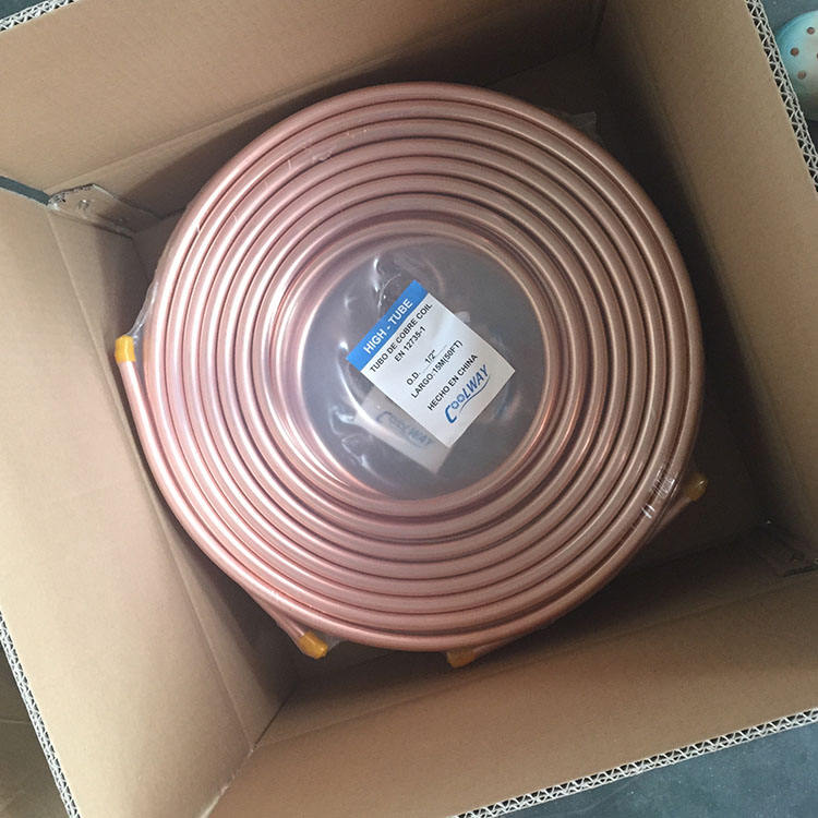 Manufacturer Price Copper Tube Coil Copper Tube Coils
