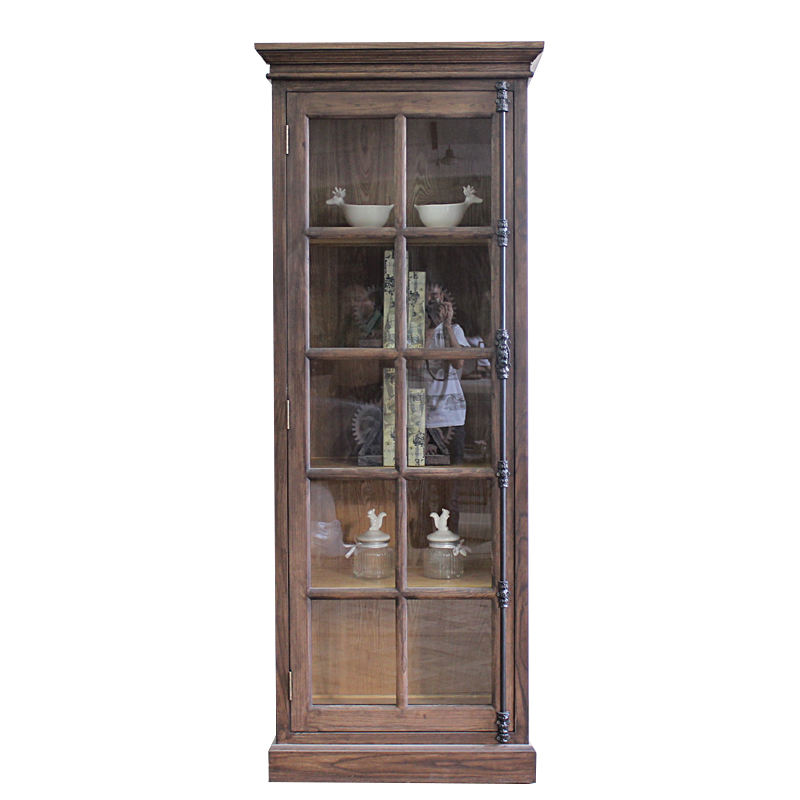 Vintage home wood french style furniture bookcase