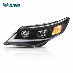 For VLAND car accessories US TYPE 2012-2014 led head lamp headlight For Toyota Camry