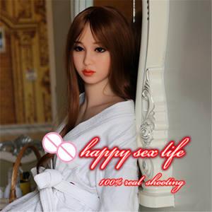 162 cm barato joven japonés Sexy chica hermosa muñeca de peluche de gran pecho peludo Vagina de cuerpo completo juguete del sexo muñeca de goma para los hombres