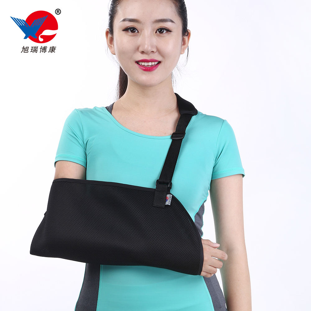 Orthopedic medical arm sling for arm support immobilization