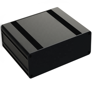 China hardware factory custom ip66 anodized aluminum extrusion enclosure