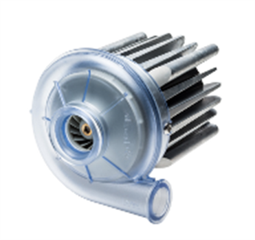 80mm small dc brushless radial blower 80x80 24v cooling blower fan U71HL-024KM-4