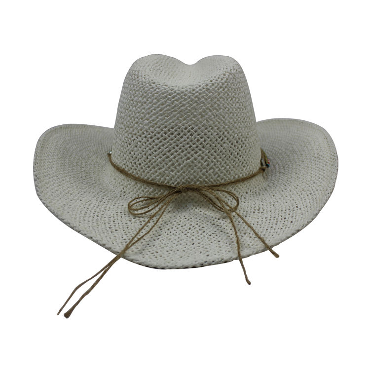 Fashionable Wide Brim Western Style Women Sun Hat Cowboy Hats