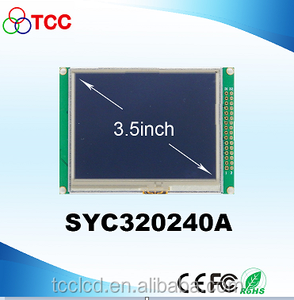 3.5inch 320*240 SSD1963 Low price China display metal detectror lg lcd tv spare parts TFT with buffet display