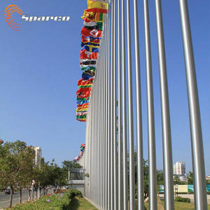 360 degree rotating stainless steel pole rust proofing revolving stainless steel flag pole