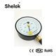 100mm analog manometer pressure gauge with precision