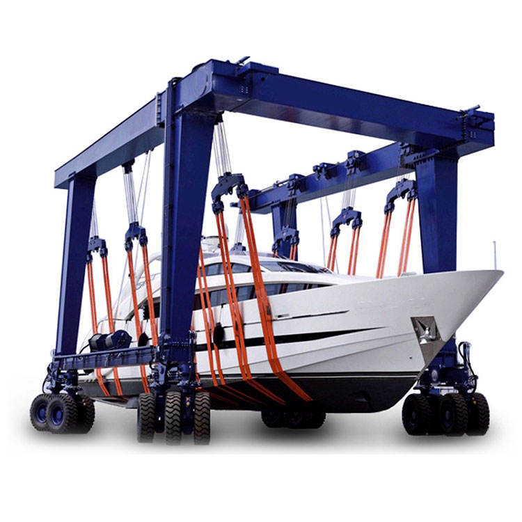 Widely used yacht boat marine travel lift gantry crane for sale
