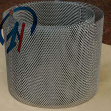 titanium metal sheet smaller hole expanded mesh