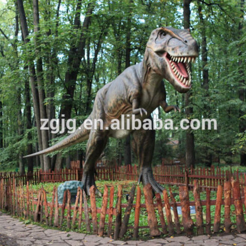 theme park decorations big life-size t-rex dinosaur model