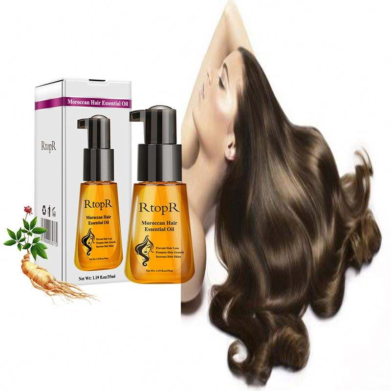 Organic Hair Care Products 100% Pure Morocco Argan Oil Hair Repair Treatment Essential Oil
