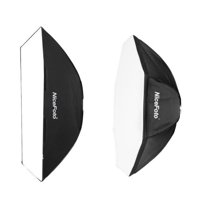 NiceFoto NE Series softbox Photography Octagonal or Square Softbox for Elinchrom and Bowens strobe flash