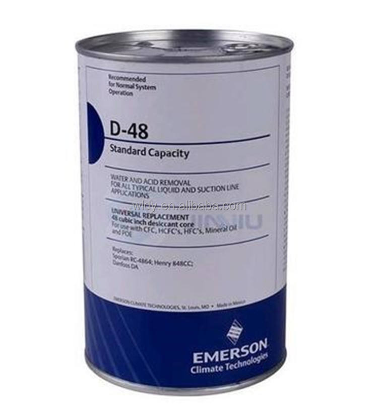 Refrigeration spare parts Emerson D48 Filter drier core