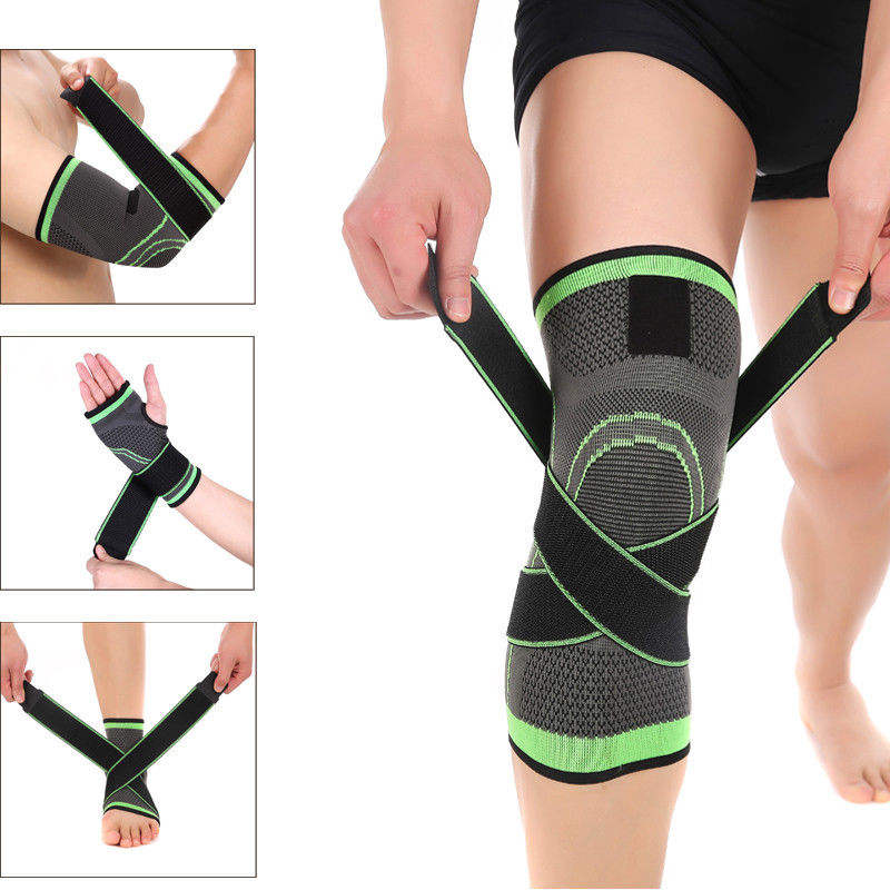 Compression Sleeve Wrist/Palm/Elbow/Knee/Shin/ Ankle Support Brace Strap Protector#AH-S