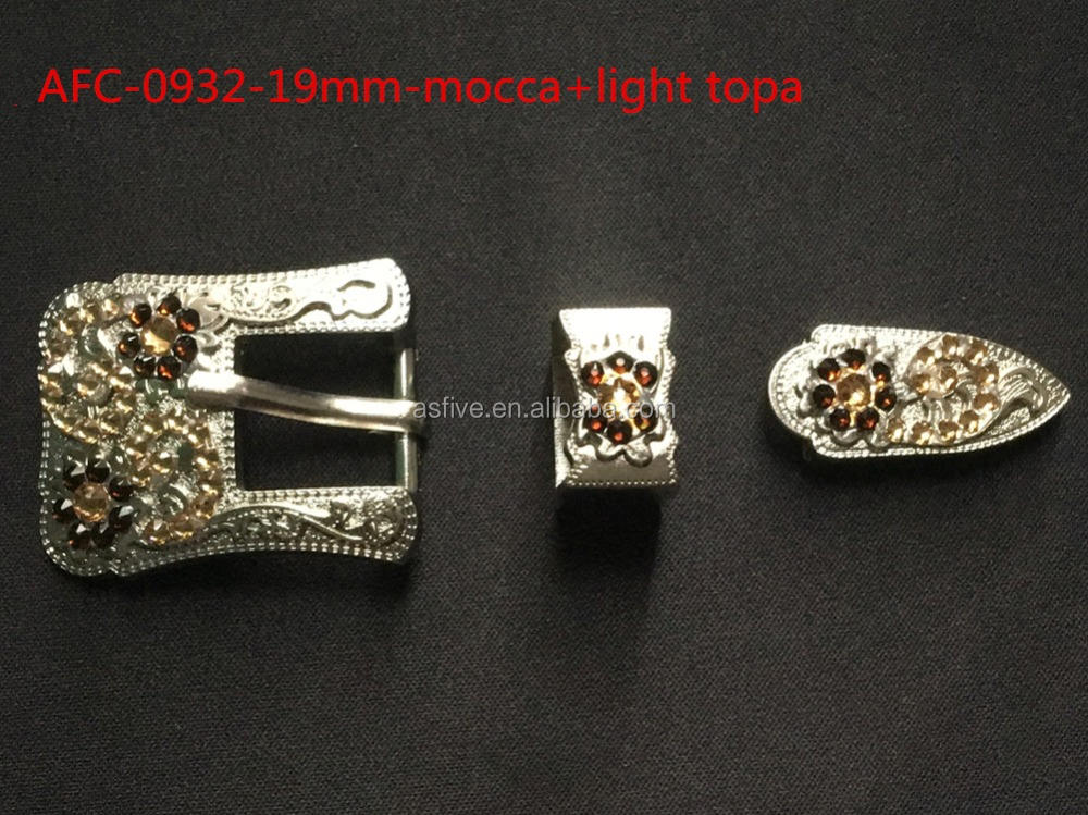 3pcs buckle set for saddlery belt