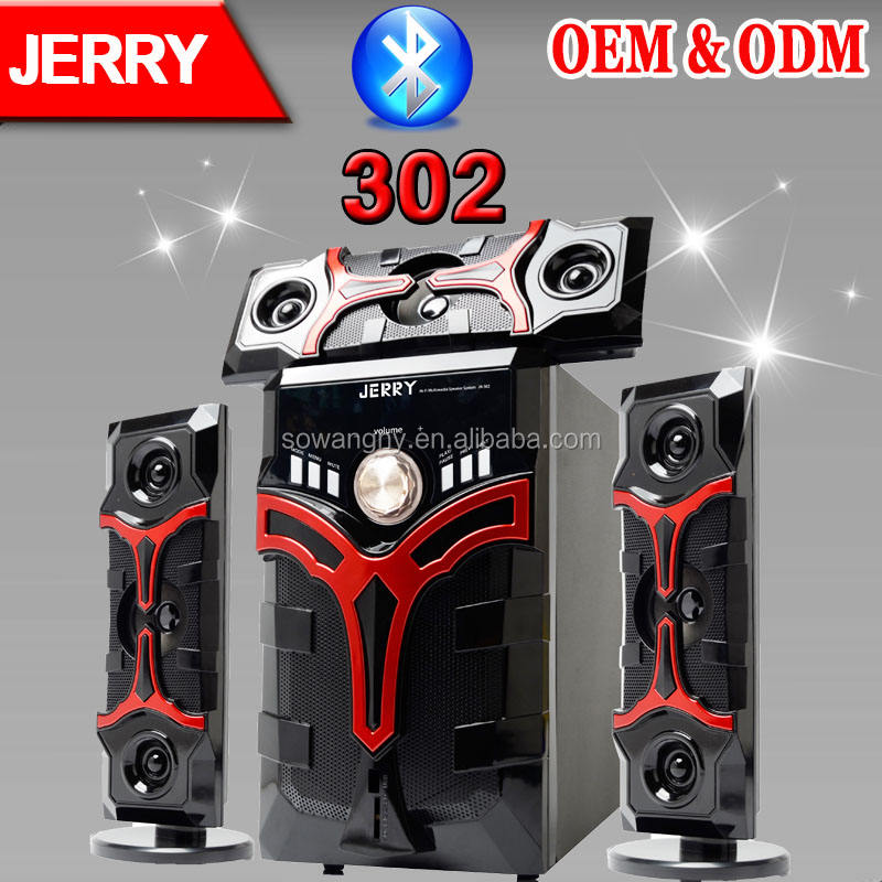 JERRYPOWER 3.1 Elefctronics 5.1 CH Hifi home theatre surround sound speaker system