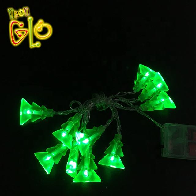 Most popular led christmas tree string light decoration with battery