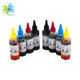 food grade printing edible ink for EPSON for CANON for HP printers DIY food coloring cake decorating coffee fruit printing