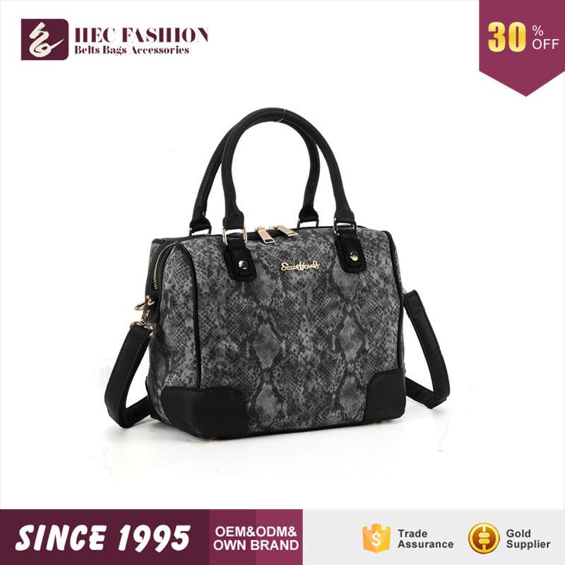 HEC Wenzhou Hersteller Verkauf Berühmten Namen Marke Leinwand Stoff Dame Handtasche nach Thailand
