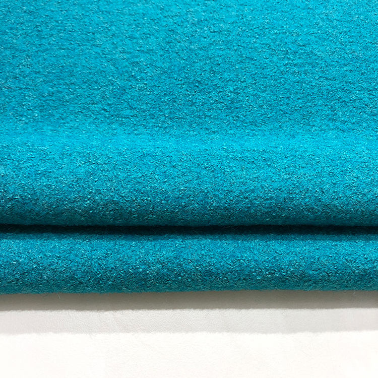 wholesale 40% viscose plain blend boiled knit 60 wool fabric