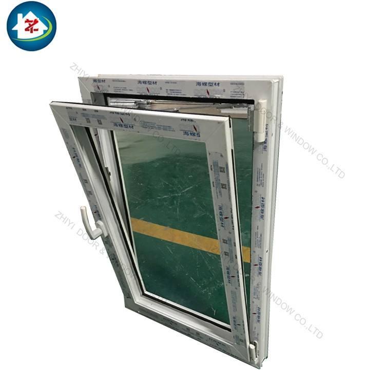 2018 latest pvc tilt and turn window design