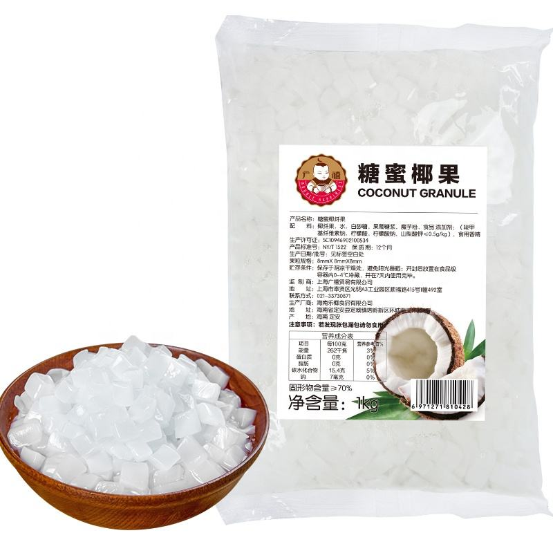 Raw nata de coco/coconut jelly best quality