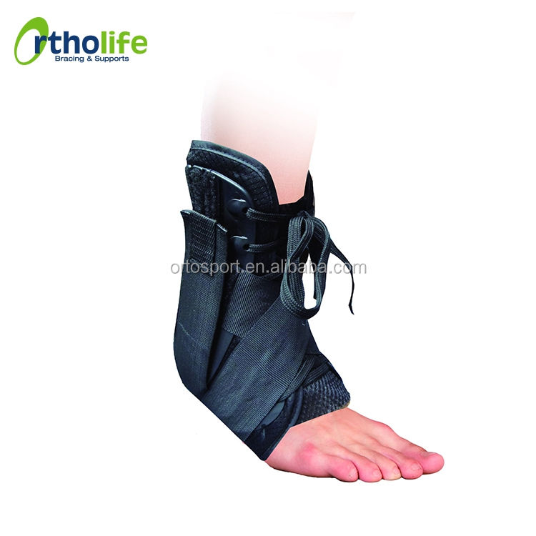 OL-AN052 Professional Stabilize Tendonitis Laced Shelter Ankle Support Brace