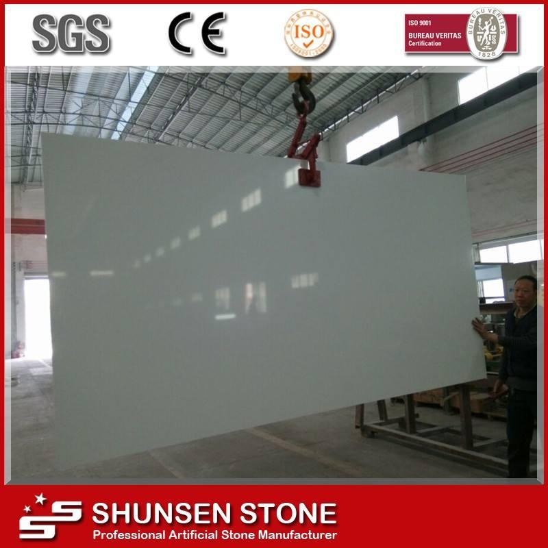 Alibaba commerce assuré chine fabricant dalles de pierre de quartz