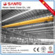 Construction Machinery low headroom single girder shop bridge lifting overhead crane 20 ton