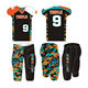 American Football Jersey Shirts Tops Tackle Twill Flag Uniforms and Pants