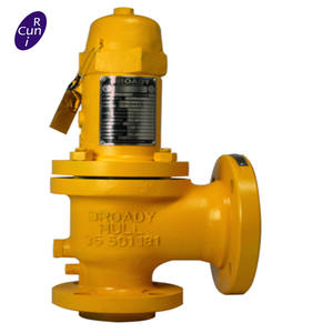 API 526 Conventional Closed Bonnet Balance Flanged Pressure Safety Relief Valve