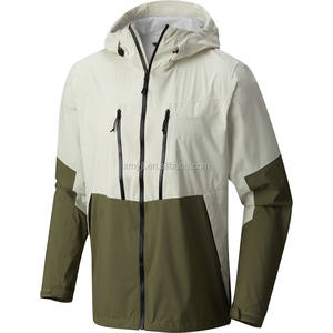 Mens Custom 100% Nylon Cheap Waterproof Wind Rain Jacket