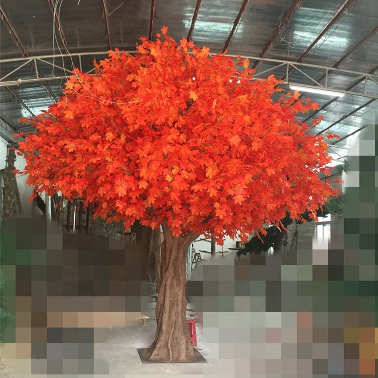 Artificial Tree For Weddings artificial orange maple trees for outdoor decoration