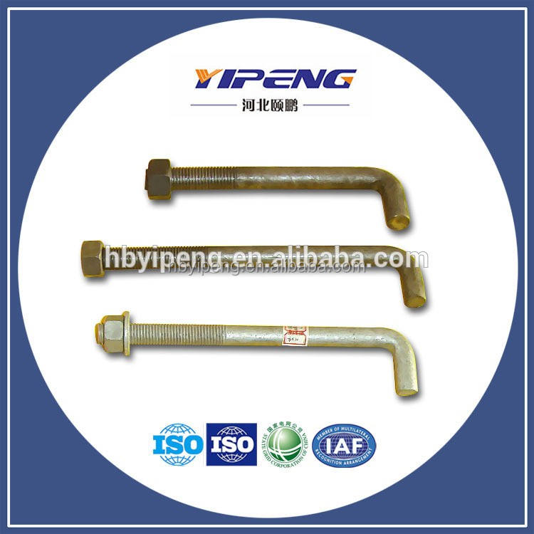 J Bolt and nut/L bolt and nut
