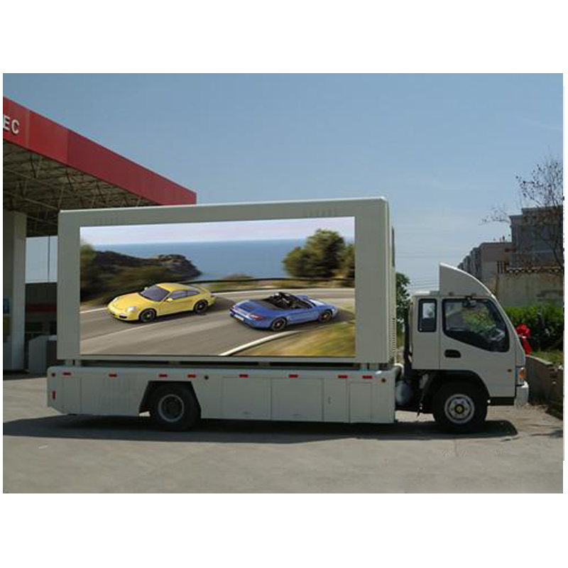 Shenzhen manufactory mobile truck Large Advertising LED Display Screens/Custom Ads Screens LED Video Wall
