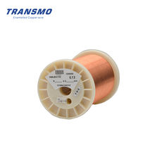 Factory 0.13mm 36AWG Self Bonding Enameled Copper Wire for Antenna in RFID Card